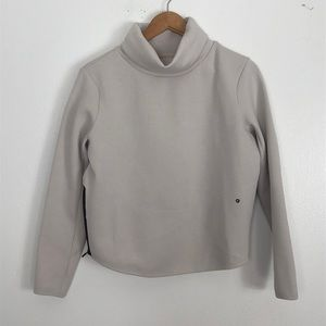 Nike cream pull over turtleneck child size small
